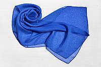 Шарф Меланья однотонный синий