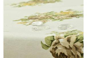 Скатертина Флора - Прованс жовтий/беж ІДЕЯ 150*180, фото 2