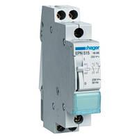 Импульсное реле 230В 16А 1НВ+1НЗ ,1М, EPN515, для импульсного управления цепями освещения с токами до 16 А
