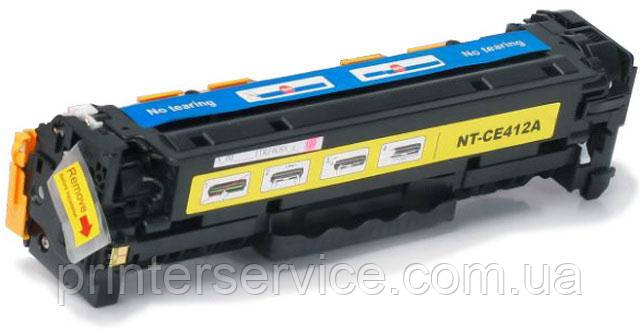 картридж G&G NT-CE412A (аналог HP CE412A)