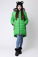 Теплое зимнее детское пальто