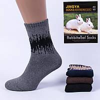 Мужские носки шерсть Yangs М10-4. В упаковке 12 пар