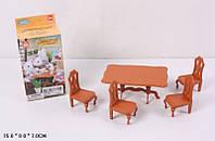 """Игровой набор """"Happy Family"""" (аналог Sylvanian Families) - обеденный стол."""