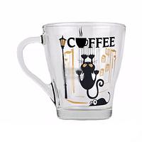 Стеклянная кружка Грация Cats на 250 мл Gallery Glass 85003555