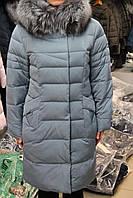 Куртка женская зимняя PEERCAT Р17-5106 ГОЛУБОЙ
