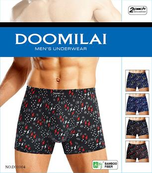 Мужские стрейчевые боксеры  Марка «DOOMILAI»  Арт.D-01004, фото 2