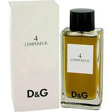 Dolce Gabbana Anthology 4 L`Empereur EDT 100 ml (лиц.)
