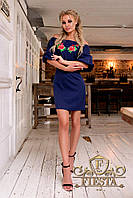 """Нарядное платье вышивка роза """"FiestaDress"""" 2P/NR-3582"""