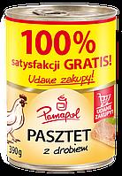 Мясной паштет Pamapol 100%, 390 g, курица