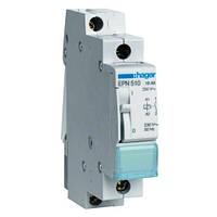 Импульсное реле 230В 16А 1НВ, 1М, EPN510, для импульсного управления цепями освещения с токами до 16 А