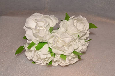 Цветы искусственные, головки, букеты