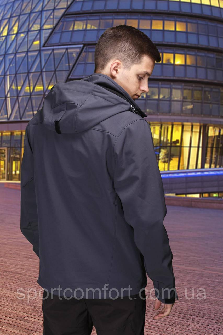 Куртка  Freever мужская  Dark grey  т. серая