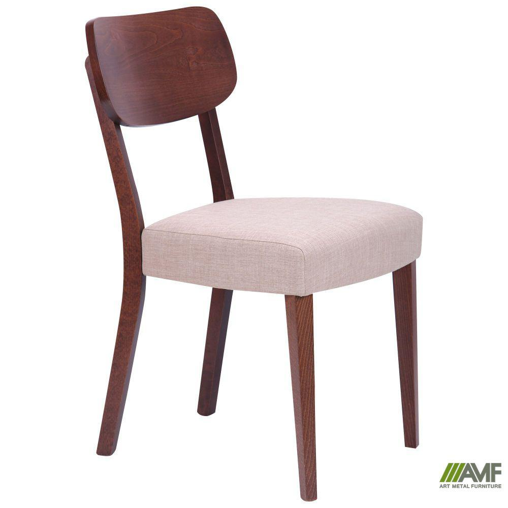 Обідній стілець Честер СВ-3831YBH горіх світлий/тканина беж.