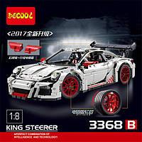 """Конструктор Decool 3368 В (аналог Lego Technic 42056) """"Porsche 911 GT3 RS"""" 2728 деталей"""