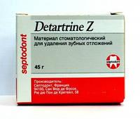 Детартрин Z - паста для удаления зубного камня с цирконом, 45 гр