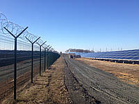 Секционный забор (3D панель) 1680х2500мм, фото 1