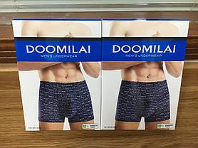 """Чоловічі боксери стрейчеві з бамбука Марка """"DOOMILAI"""" Арт.D-01008, фото 3"""