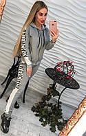 Спортивный костюм женский с лампасами, фото 1
