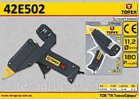 Пистолет клеевой электрический 180Вт,  TOPEX  42E502