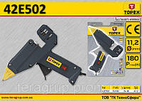 Пистолет клеевой электрический 180Вт,  TOPEX  42E502, фото 1