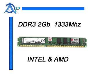 DDR3 2GB для INTEL и AMD KVR1333D3N9 2G универсальная 1333Mhz ОЗУ память