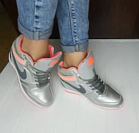 Женские стильные, сникерсы, кроссовки Nike Force Sky High Prm 36р