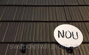 Модульная металлочерепица Novatik Wood, фото 2