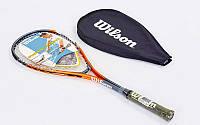Ракетка для сквоша WILSON WRT906000 IMPACT PRO 500 SQ RKT