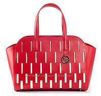 Кожаная красная сумка Tosca Blu. Италия.