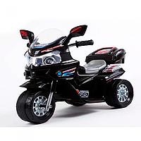 Детский мотоцикл на аккумуляторе M 3577-2 черный