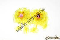 Детские резинки для волос с висюльками, 1 пара