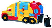 "Wader машина ""Super Truck"" мусоровоз малый Тигрес 36580"