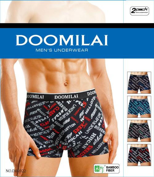 Мужские стрейчевые боксеры Марка «DOOMILAI» Арт.D-01022