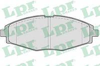 Тормозные колодки передние LPR 05P693 Lanos 1.5