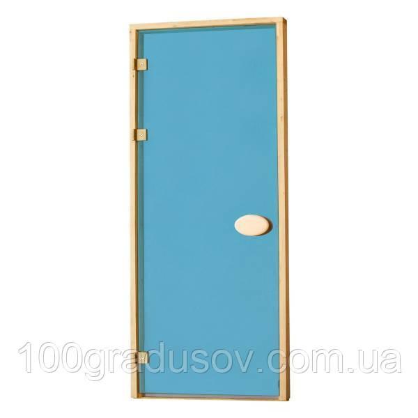 Двери для бани Balti (синие 80х210)