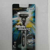 Станок для бритья мужской Gillette Mach 3 + 1 картридж (Жиллет Оригинал), фото 1