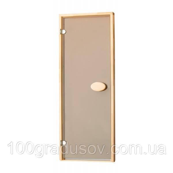 Двери для бани Balti (матовая бронза 80х190)