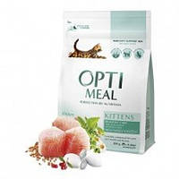 OptiMeal (Оптиміл) сухий корм для кошенят з куркою