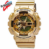 Часы водонепроницаемые Casio G-Shock GA-110 All Gold AAA