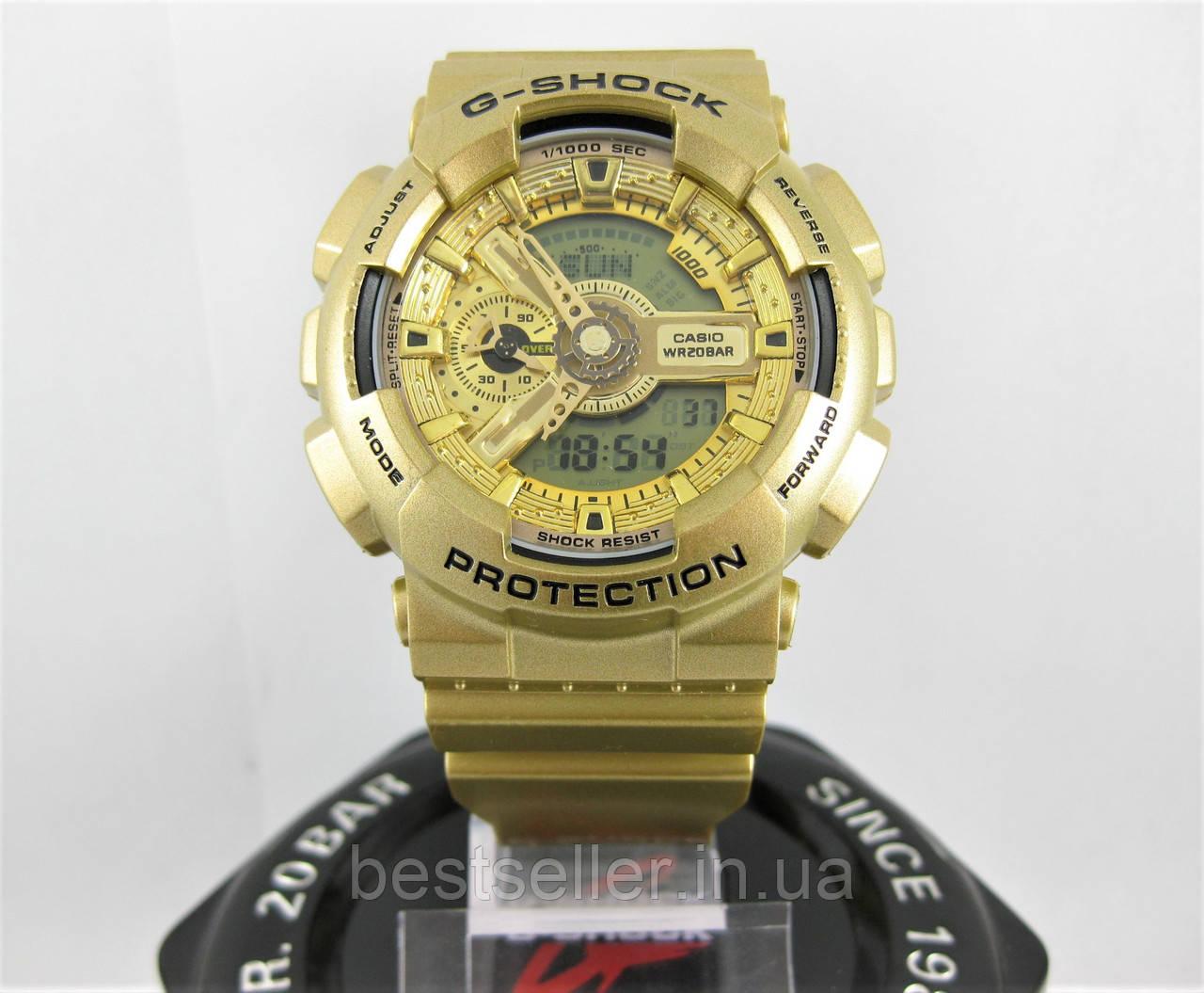 """Часы водонепроницаемые Casio G-Shock GA-110 All Gold AAA - Интернет-магазин """"BestSeller"""" в Киеве"""