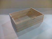 Хлебница из дерева для фаст фудов или кафе