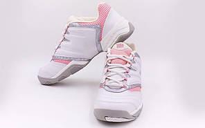 Кроссовки теннисные WILSON WRS963600-41,5 Challenge II (41,5,белый-розовый)