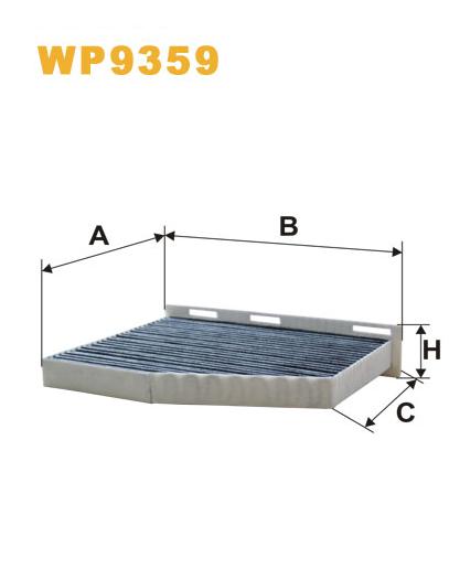 Фильтр салонный WIX WP9359 (K1211A)