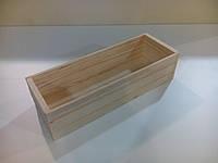 Подставка для ложек, вилок и ножей из дерева для фаст фудов или кафе