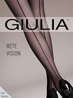 Фантазийные колготки со швом  RETE VISION от GIULIA