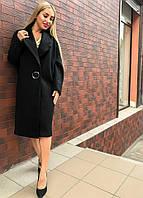 Классная модель! Пальто женское черное