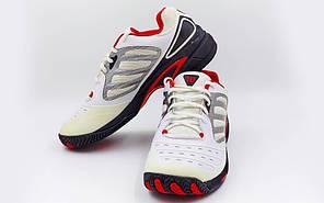 Кроссовки теннисные WILSON WRS981700 (р-р 42-45,5) Tour Vision (белый-черный-красный)