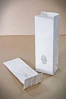 Пакет паперовий з плоским дном та вікном 265*90*65 БІЛИЙ