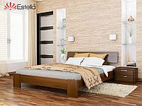 Кровать Титан тм Эстелла Массив бука, 160х190/200, №103 Светлый орех