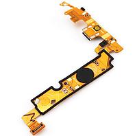 Шлейф (Flat cable) с коннектором зарядки микрофона подсветки сенсорных кнопок и кнопкой Home для LG E610 E612